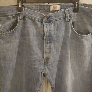 Levi's Jeans - Levi's 501 Straight Button Fly 42x32 Jeans